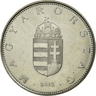Monnaie, Hongrie, 10 Forint, 2013, Budapest, TTB, Copper-nickel, KM:848 - Hongrie
