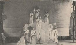 Rare Cpa Au Théatre De La Passion Le Drame De Jeanne D'Arc - Christianity