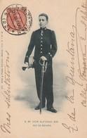 Rare Cpa Le Roi D'espagne Don Alfonso XIII - Familles Royales