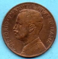 NO/ ITALIE ITALY  5 Centesimi 1909   VITT EM III  KM#42 - 1861-1946 : Royaume