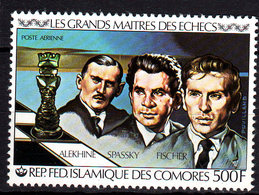 Comores P.A.  N° 174  X Les Grands Maîtres Des échecs Trace De Charnière Sinon TB - Comores (1975-...)