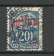 Estland Estonia 1929 O VEREVI AG Michel 72 - Estonie
