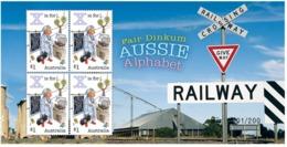 "Australia 2018 - Fair Dinkum Aussie Alphabet ""X"" MS - Numbered 49 - Railway Crossing MNH - 2010-... Elizabeth II"