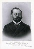 Privat-docent SCHAUDINN Université Berlin Membre Com. De La Malaria Cons.Imperial Hygiène Découverte Syphilis 1905 TBE - Santé