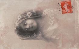 5430A  ENFANT    TIMBRE   1911    ECRITE - Cartes Humoristiques