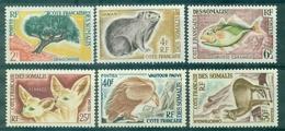 COTE DES SOMALIS N°305 / 310 N Xx TB.cote 55 € (maury) - Côte Française Des Somalis (1894-1967)