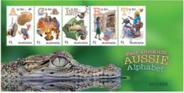"Australia 2018 - Fair Dinkum Aussie Alphabet ""A,C,L,R,T"" MS - Numbered 49 - Gator - MNH - 2010-... Elizabeth II"