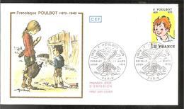 FDC 1979  POUBOT - FDC