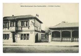 CPA 67 OBERNAI HOTEL RESTAURANT CLOS SAINTE-ODILE - Obernai