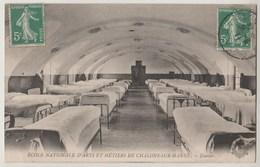 CPA 51 ECOLE NATIONALE D' ARTS ET METIERS DE CHALONS SUR MARNE Dortoir - Châlons-sur-Marne