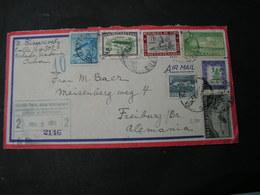 Kuba Cv. Nach Freiburg 1953 - Brieven En Documenten