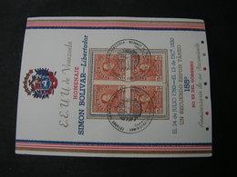 Venezuela,  S.Bolivar Card .. - Venezuela