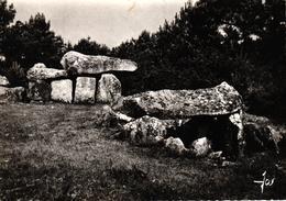 CARNAC -56- DOLMENS A CHAMBRES SCULPTEES MENE KERIONET - Carnac