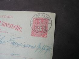 Chile Karte 1891 - Chile