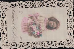 5430A  ENFANT    TIMBRE  VERSO  1907    ECRITE - Cartes Humoristiques