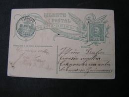 Portugal Karte 1910 - Ganzsachen