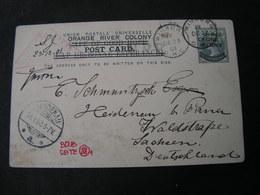 Winburg Card 1902 - Südafrika (...-1961)