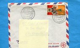 MARCOPHILIE-Madagascar-lettre>Françe-cad 1972 Exposition Phil  Tananarive Stamp N°506 Expo Concordant - Madagascar (1960-...)
