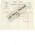 21 - Côte-d'or - POUILLY-EN-AUXOIS - Facture TRIBET-VIRTELY - Horlogerie, Bijouterie - 1887 - REF 116A - 1900 – 1949