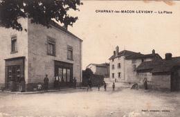71 - CHARNAY -les- MACON - LEVIGNY - La Place - France