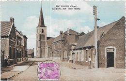 HELESMES: L'EGLISE RUE JEAN JAURES - France