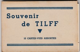 TILFF / SOUVENIR / CARNET AVEC 10 CARTES - Esneux