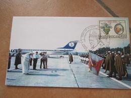 Agosto 2002 Viaggio Giovanni Paolo II A Cracovia Polonia Annullo Polonia + Vaticano - Vaticano