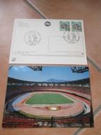 30.04.1997 Qualificazioni Campionati Del Mondo Italia Polonia Napoli Stadio San Paolo Ann.spec.+ Cartolina Stadio - Coppa Del Mondo