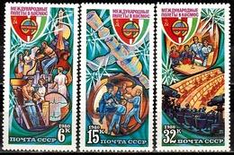 Sowjetunion  Mi. Nr. 4964-4966 MNH ** (5348) - 1923-1991 USSR