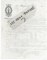 34 - Hérault - MOUGERES Par CAUX - Facture BLAIN - Fabrique De Chartreuse - 1902 - REF 116A - 1900 – 1949