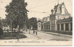 14      Caen      école Des Filles        Boulevard Gambetta - Caen