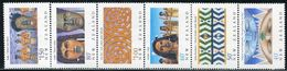 AQ0363 New Zealand 1990 Maori Folk Tattoos And Other 6V MNH - Celebrations