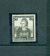 Deutsches Reich, Nr. 596, Nothilfe Trachten Postfrisch ** - Deutschland