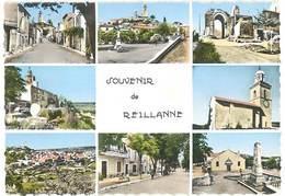 Cpsm Reillanne - Multivues - France