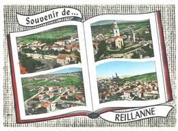 Cpsm Reillanne - Souvenir De R. - Multivues - France