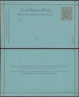 Austria 1900 - 6 H. Bosnia And Herzegovina, PS Letter Card, GA Kartenbrief MiNr. K 5. - Postwaardestukken