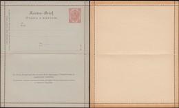 Austria 1900 - 10 H. Bosnia And Herzegovina, PS Letter Card, GA Kartenbrief MiNr. K 6. - Postwaardestukken