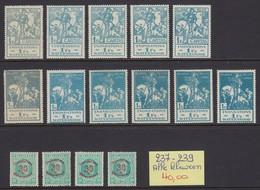 237-239 Alle Kleuren - 1883 Léopold II