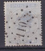 N° 18 A  : 110 ENGHIEN  Coba +4.00 - 1865-1866 Profil Gauche
