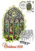 Christmas Noël Weihnachten Jul Navidad Maximum Card 1981 - Jersey - Jersey