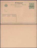 Austria 1914 - Bosnia And Herzegovina, Military Field Post Stationery 'Feldpost - Portofrei' 1914-1916.(II) - Entiers Postaux