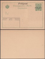 Austria 1914 - Bosnia And Herzegovina, Military Field Post Stationery 'Feldpost - Portofrei' 1914-1916.(II) - Postwaardestukken