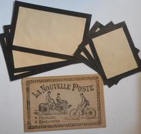 Rare Poste Lot De 3 Feuilles Et Enveloppes Dans La Pochette D'origine , Facteur , Bon état - Poste & Facteurs