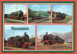 GDR 1985. Postcard New. - Trains