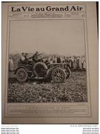 1908 L'AUTO MITRAILLEUSE AU MAROC - HENRY FARMAN - L'AERONAT VILLE DE PARIS A VERDUN - RUGBY BORDEAUX STADE - Livres, BD, Revues