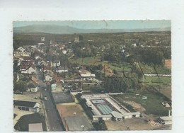 Morestel (38)  : Vue Aérienne Générale Au Niveau Du Quartier De La Piscine Découverte Et Du Camping En 1967 GF. - Morestel