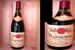 Bouteille De Vin POMMARD 1980 - Bourgogne Rouge ( Côte De Beaune ) -   (_DV3) - Vin