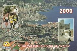 """Principaute De Monaco, """"4.eme Marathon International De Monaco 2000"""" - Monaco"""