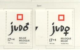 PIA - BELGIO  - 1997 : Sport : Judo - (Yv  2704-05) - Lotta