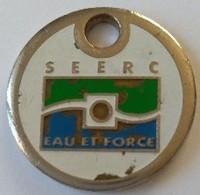 Jeton De Caddie - SEERC - Eau Et Force - AIX LES MILLES (13) - En Métal - - Jetons De Caddies